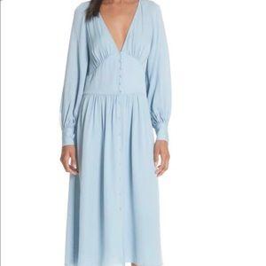 NWT joie 100% silk midi dress